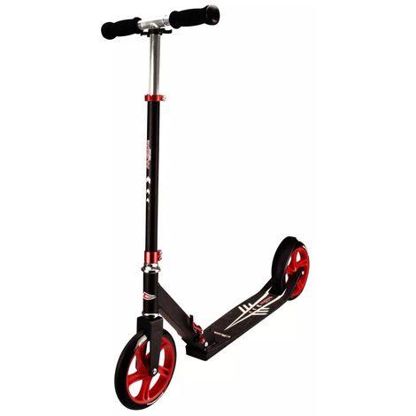 Nijdam Scooter pliable Low Cruiser Noir et rouge