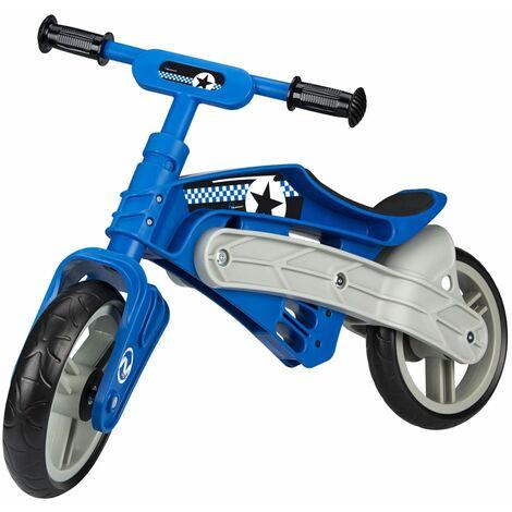 Nijdam Vélo d'équilibre ajustable N Rider Bleu et gris