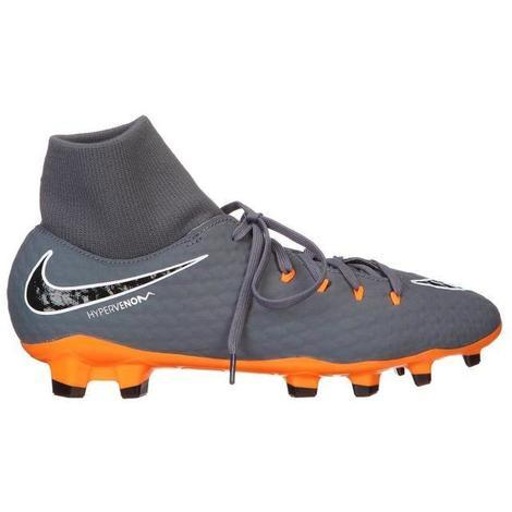 fabrication habile Royaume-Uni grande remise NIKE Chaussures de football Hypervenom Phantom 3 Academy - Homme - Gris -  42,5