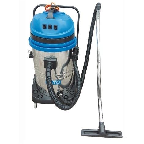 Nilfisk Alto - Aspirateur eau et poussière 75L 3x1200W TRI-moteurs - MAXXI 375 METAL