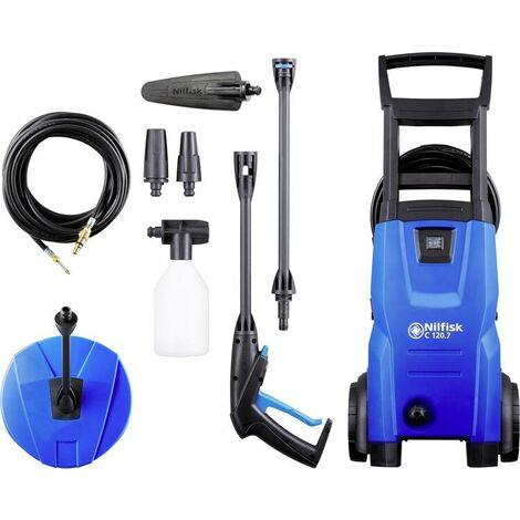 Nilfisk C 120.7-6 PCAD EU Droit Electrique 440l/h 1400W Noir, Bleu pressure washer (128471010)