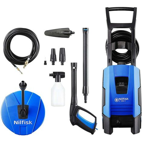Nilfisk - Limpiador de alta presión 1,8kW 135 bar 520 L/h - C 135.1-8 PCAD COMPACT