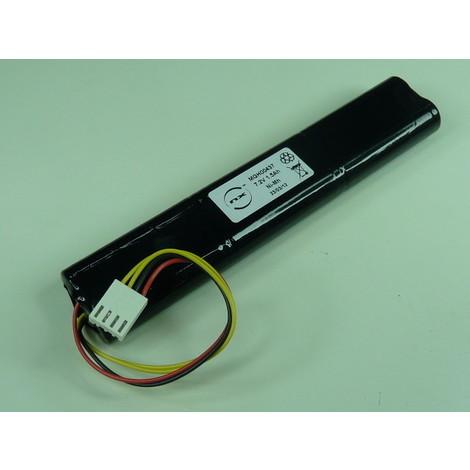 NiMH battery pack 6x AA ST5 6S1P 7.2V 1.7Ah Molex