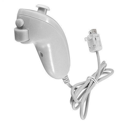 Nintendo Wii Joystick Nunchaku Blanco