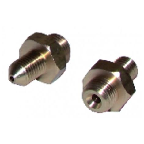 Nipple of connection m1/4 x m13/125 (X 2)
