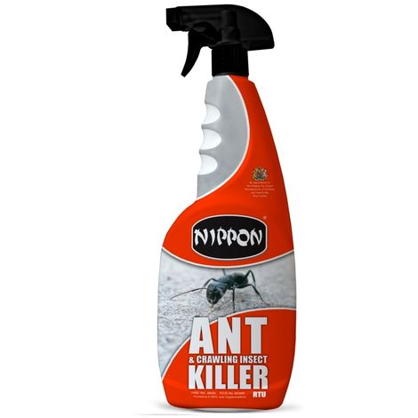 Nippon 750ml Ant and Crawling Insect Killer Trigger Spray