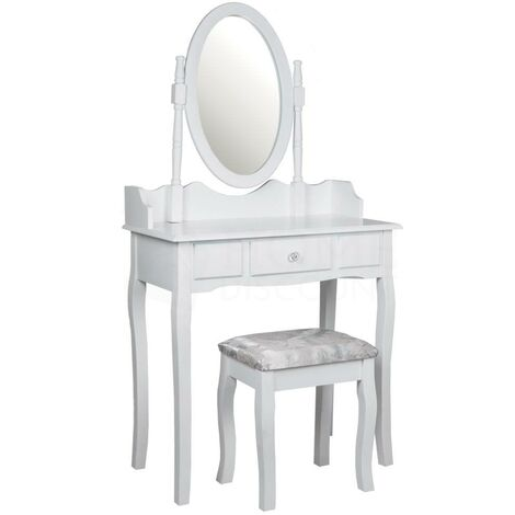 Nishano 1 Drawer Dressing Table, White