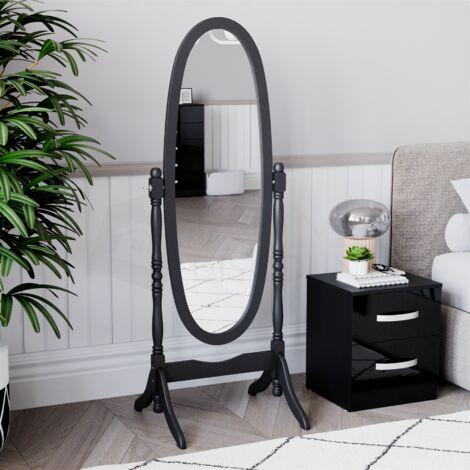 Nishano Cheval Mirror, Black