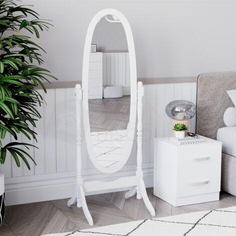 Nishano Cheval Mirror, White