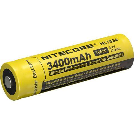 NiteCore NL1834 Spezial-Akku 18650 Li-Ion 3.7V 3400 mAh Q427931