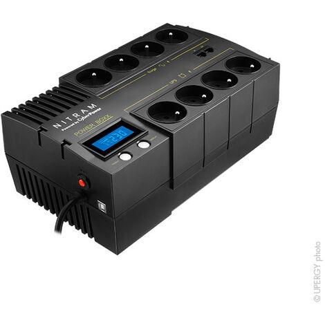 "main image of ""Nitram - Onduleur PB 700 LCD NITRAM (700 VA / 420 W)"""
