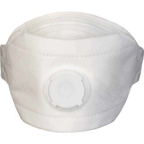 NITRAS Atemschutzmaske Atemschutzmaske 4140 FP SafeAir FFP3 / V NR D mit Ausatemventil, faltbar