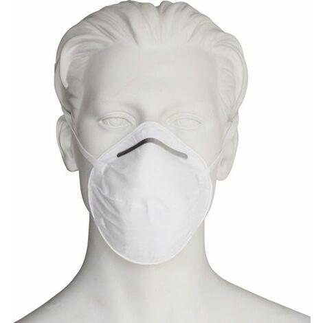 NITRAS Atemschutzmaske (FFP2 NR / ohne Ventil / Inhalt: 20 Stück) - 4120SI/Safe Air
