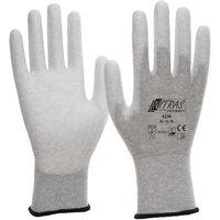 NITRAS NITRAS 6230 ESD-Handschuhe, Schutzhandschuhe antistatisch, Touchscreen-Handschuhe