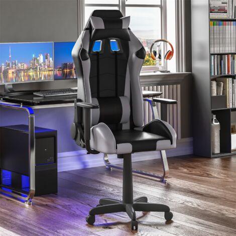 Nitro Racing Gaming Chair, Grey & Black