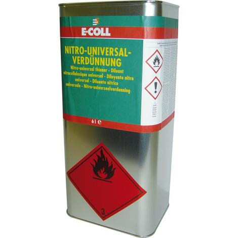 Nitro-Univ-Verdünnung 6L Kanister E-COLL 4317784349246 Inhalt: 4