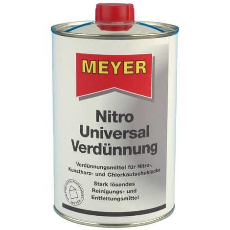 Nitroverdünner 1l Flasche o.Methanol/o.Toluol