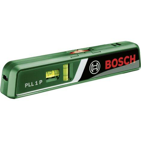 Niveau à bulle laser Bosch Home and Garden PLL 1 P 0603663300 20 m 0.5 mm/m Etalonnage: dusine (sans certificat) 1 pc(s