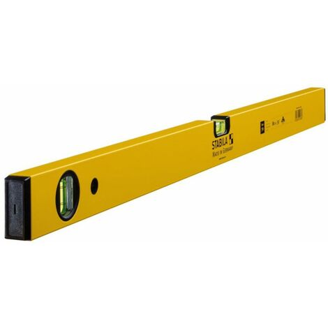 Niveau à bulles 70 150 cm aluminium jaune ± 0,5 mm/m