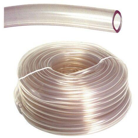 """main image of """"Niveau de tuyau transparent 4 x6 mm.Rouleau de 50 mètres"""""""