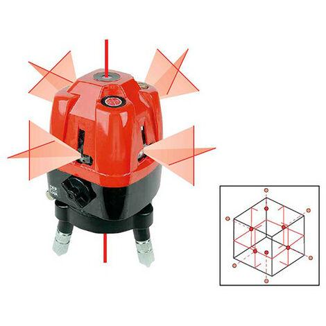 Niveau laser automatique 4 croix et 6 points