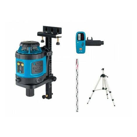 Niveau Laser Automatique Geofennel écoline El 515 Plus - Pack Trepied Et Mire