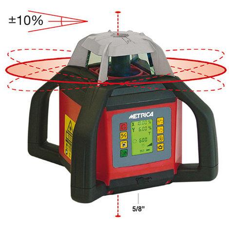 Niveau laser automatique rotatif à hauteur inclinable avec 4 poignées - INCLIGRAD 2