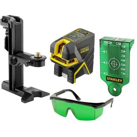 Niveau laser croix + 2 points - SCPG2 vert - Fatmax Stanley