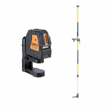 Niveau Laser Croix Fl 40 Powercross Plus Geofennel + Canne 3.40m