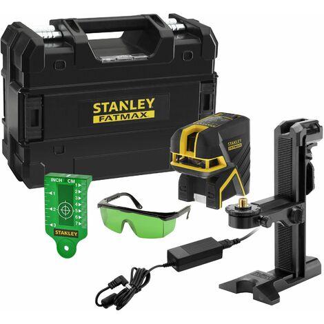 Niveau laser croix SCP5 - Vert - 5 points - Stanley Fatmax