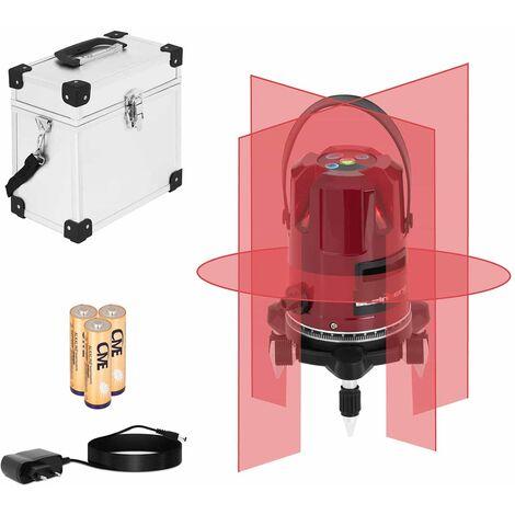 Niveau Laser En Croix Autonivelant Automatique 360° Portée 25 Mètres Mallette