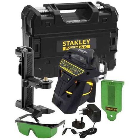 Niveau laser ligne automatique STANLEY X3-360 GREEN Faisceau vert