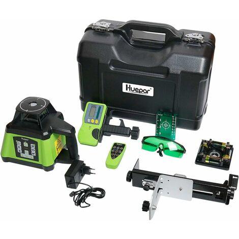 Niveau Laser Rotatif Automatique 360° Huepar RL200HVG