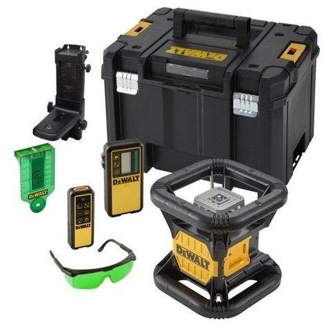 Niveau laser rotatif double pente intérieur / exterieur XR 18V faisceau vert Dewalt DCE079NG-XJ 1858.30