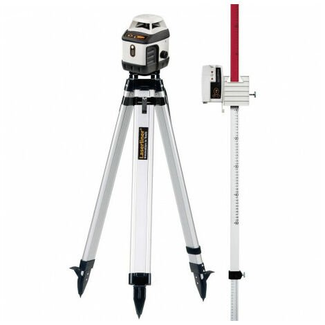 Niveau Laser Rotatif Laserliner Aquapro 120 - Pack Trépied Et Mire