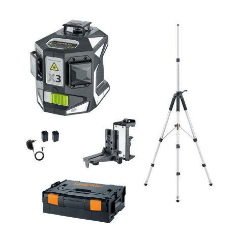 Niveau Laser Vert 360° X3 Laser-pro Laserliner