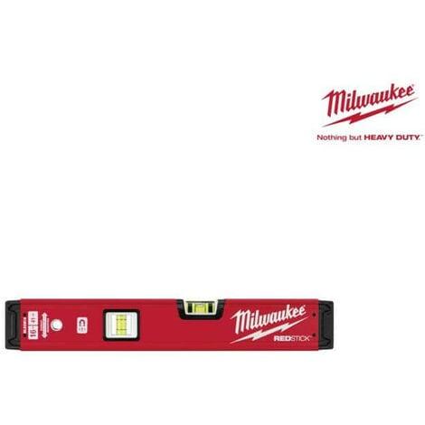 Niveau tubulaire MILWAUKEE RedStick 40 cm magnétique Premium 4932459061