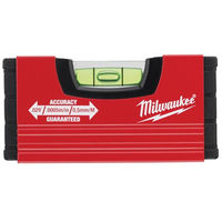 Niveau tubulaire MINIBOX 10 CM MILWAUKEE - 4932459100 - -