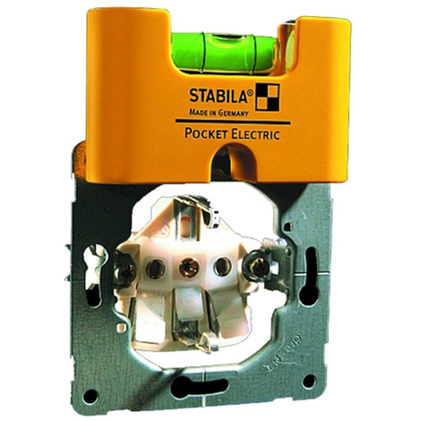 Nivel Burbuja Mini Electric - Stabila Pocket - 177751 - 70X18X40Mm