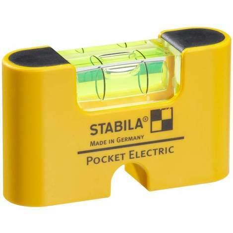 Nivel de burbuja Stabila [1617775 Pocket Level Electric]