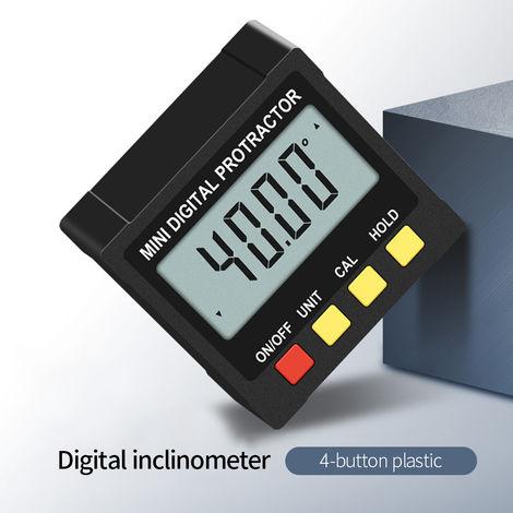 Nivel del inclinometro digital Regla de nivel de medicion de 360 ¡ã
