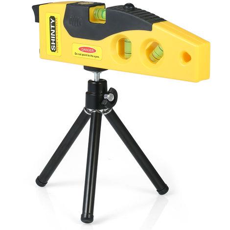 Nivel laser, con tripode ajustable, medicion horizontal vertical de 45 grados
