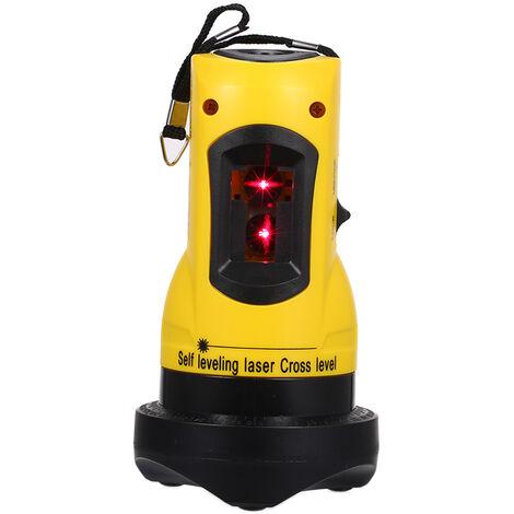 Nivel laser cruzado de 2 lineas para el hogar, 360 giratorio