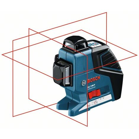 Nivel láser de líneas GLL 3-80 P Professional