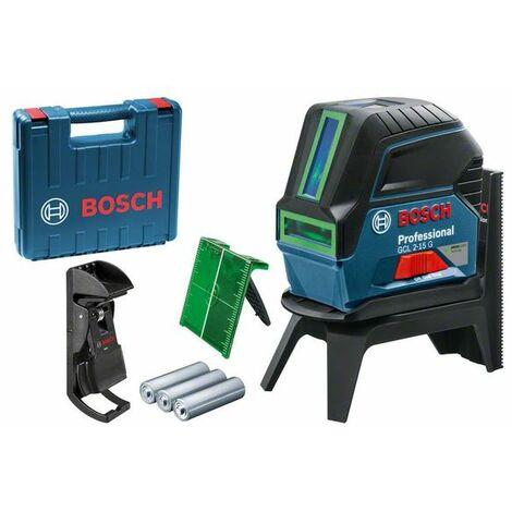 Nivel láser de puntos Bosch GCL 2-15 G Prof + RM1