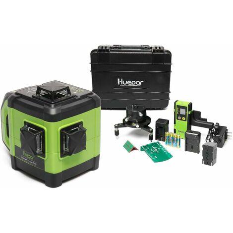 Nivel láser electrónico de haz verde Huepar 3D Huepar DT03CG