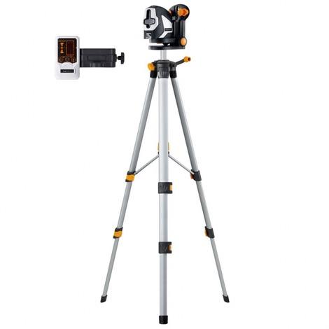 Nivelador Láser de líneas y puntos SuperCross Laser 2P + Trípode + Detector