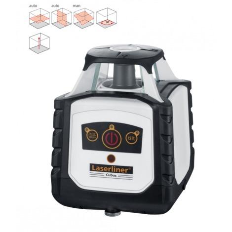 Nivelador Láser Rotativo Cubus 110 S + Trípode + Mira Flexi