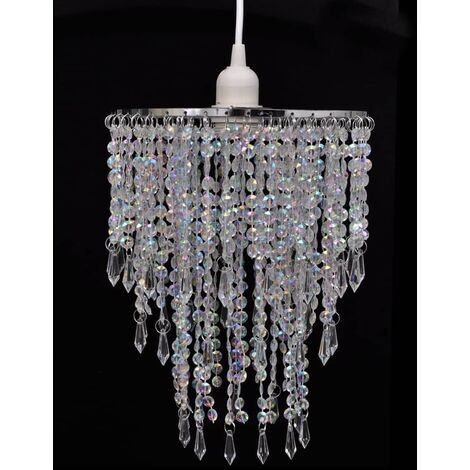 Nixon 1-Light Crystal Chandelier by Mercer41 - Transparent