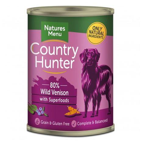 NM Country Hunter Latas Perro Venado Lata de 400 gr